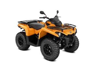Can-Am Outlander DPS 570 T '20 Orange