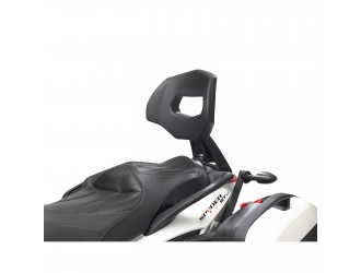 Can-am  Bombardier Passenger Backrest for Spyder RS & ST